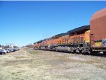 BNSF ES44DC 7469 & BNSF ES44C4s 6886 & 6973