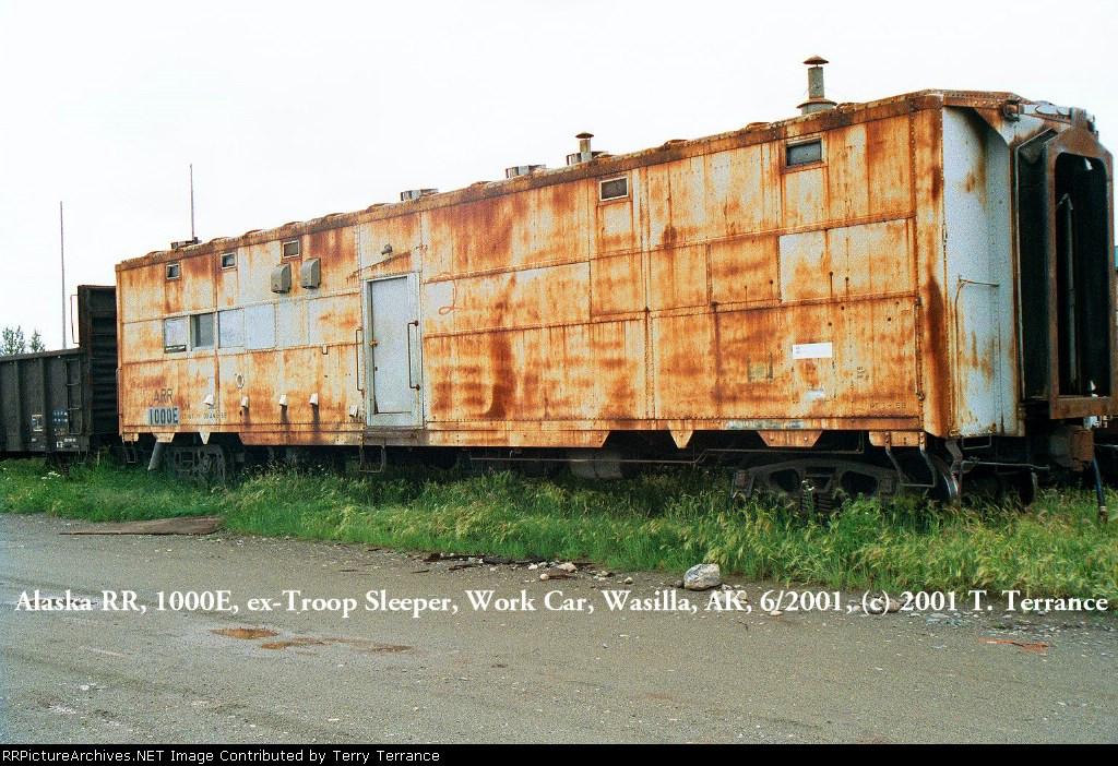 ARR 1000E, ex-Troop Sleeper Work Car