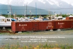 Alaska RR, 10335 & 10629, ex-Troop Sleepers, now used for storage