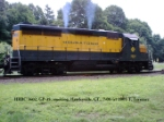 HRRC 3602, GP-35M, smoking at Hawleyville, CT 7/05