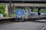 Pennsylvanian entering Lancaster Station