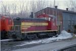 LUDINGTON & NORTHERN Switcher sits at Ann Arbor RR yard 16
