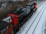CN 2800 at Bayview
