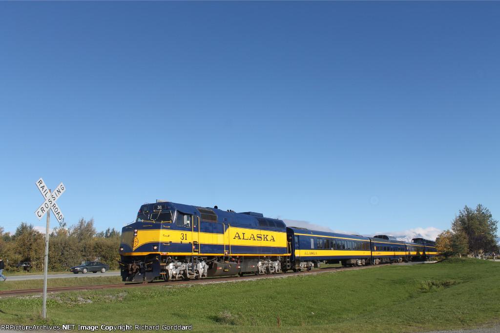 ARR passenger train