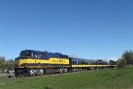Alaska passenger train