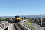 Approaching Anchorage International Airport Station