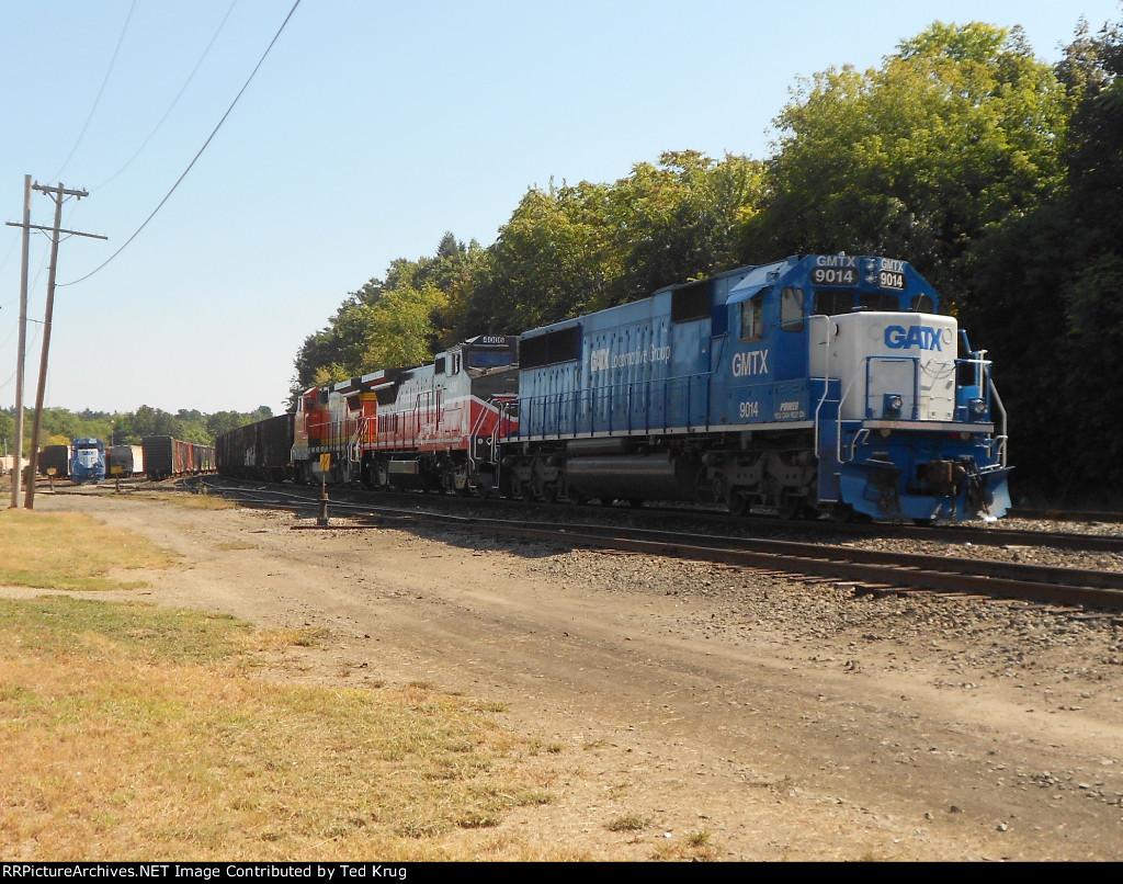 Bow Coal Train