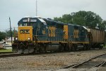 CSX Mother Slug 6900-2315 working during TS Beryl