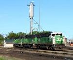 BNSF 8100