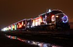 2012 Holiday Train laying over in Aberdeen