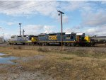 CSX 2624, 2735, and 8830