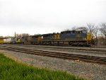 CSX 581, 815, and 2735