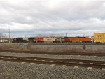 BNSF 7860 and 795