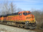BNSF 6152 On NS 251 Eastbound