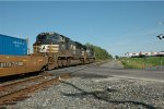 Norfolk Southern Locomotives 8972 and 2603 Eastbound