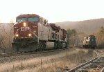 CP 9814 (AC44CW) & CR 4934 (GG1)