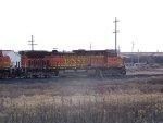 BNSF C44-9W 5233