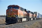 Westbound intermodal pauses