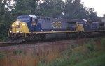 CSX 649 leading Q102