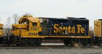 Stripped BNSF 2562