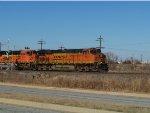 BNSF ES44DC 7329