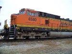 BNSF C44-9W 4580
