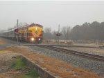 KCS 1 Passes Former Depot