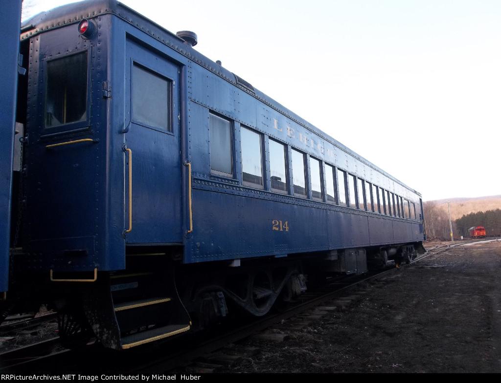 Lehigh Gorge Scenic Railway  214