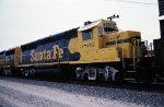 Santa FE GP40X 3802