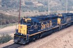 SD45's in Cajon Pass