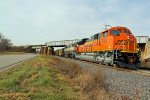 BNSF 9105 Leads A brand new ace.