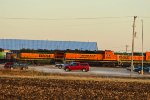 BNSF 2660 with a nice treat behind it.