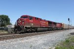 CP 8635 and CP 9802 - Canadian Pacific