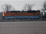 Zoom in Shot of the Newest SD-70ACe I've got this Year as She Heads eastward pulling a Loaded Coal Train.