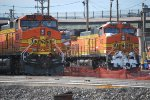 BNSF 5413 Arrived Denver After A Stormy Night Run