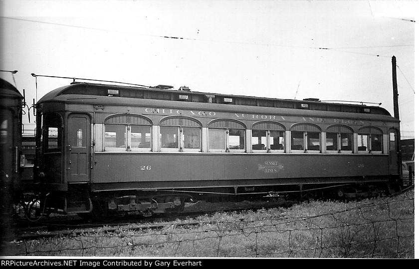 CA&E 26 - Chicago, Aurora & Elgin Interurban