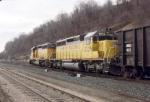 W/B UP coal train
