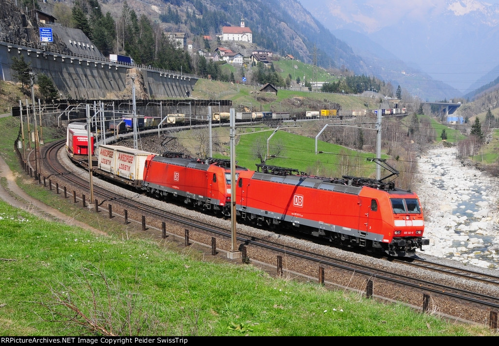 DB Schenker Cargo BR 185 operations