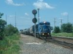 LMS 701 leads the last Conrail train I ever photographed