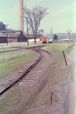 Unusual Trackwork by the old depot in New Castle