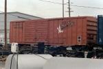Galveston Wharves Boxcar