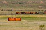 BNSF ES44DC 7288