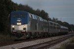 Amtrak P092 inbound