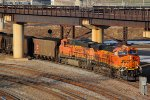 BNSF 6402 Leads a coal load SB.