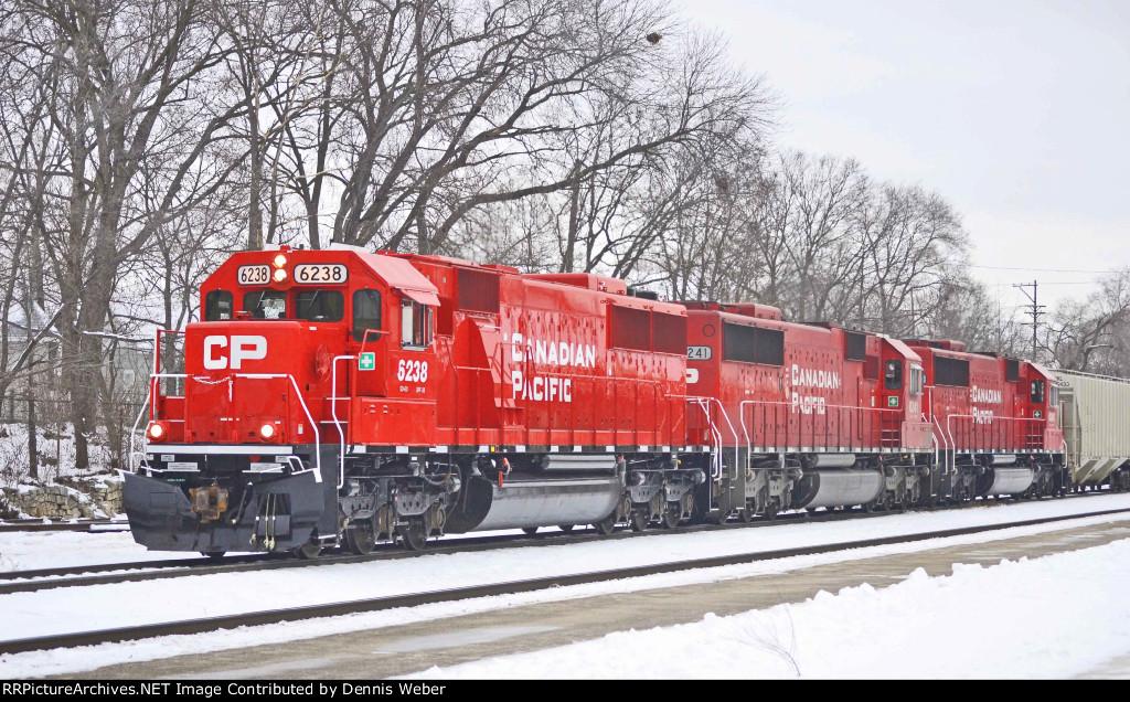 CP 6238,   CP's   Tomah   Sub.