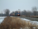 @2:30 pm NS 15E goes by to tie down for the night with 21T, 16K