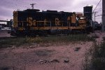 Wrecked ATSF SD26 4663
