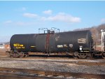 Tank car with hazmat