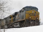 CSX 5312 holds short of CP270 due to switch problems