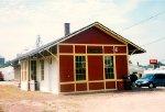 c1877 CGW Elizabeth Depot